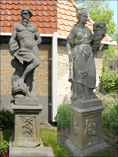 Diek 11A Den Hoorn Tuinbeelden